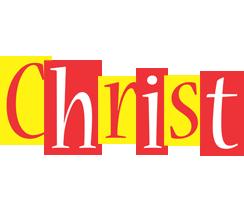 Christ errors logo