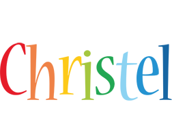Christel birthday logo