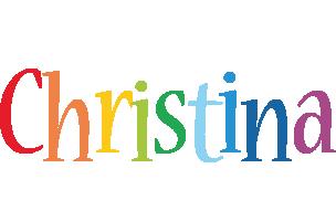 Christina birthday logo