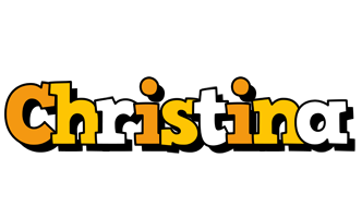 Christina cartoon logo