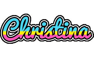Christina circus logo