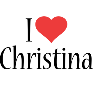 Christina i-love logo