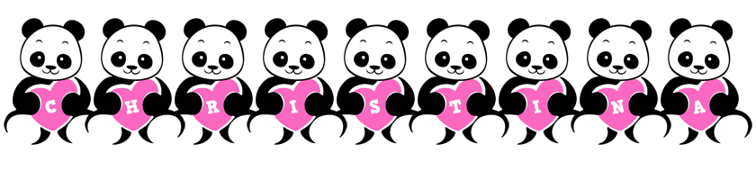 Christina love-panda logo