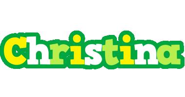 Christina soccer logo