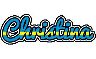Christina sweden logo