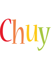 Chuy birthday logo