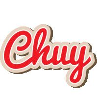 Chuy chocolate logo