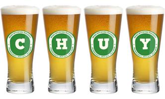 Chuy lager logo
