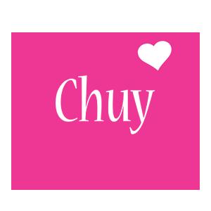Chuy love-heart logo