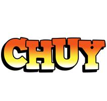 Chuy sunset logo