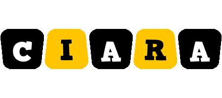 Ciara boots logo