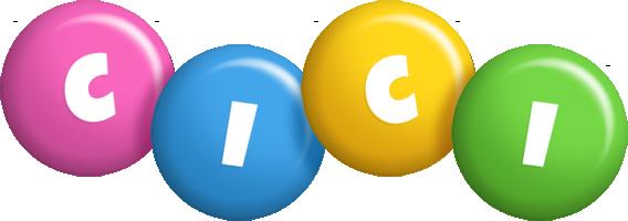 Cici candy logo
