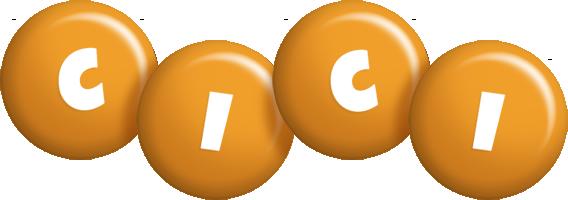 Cici candy-orange logo