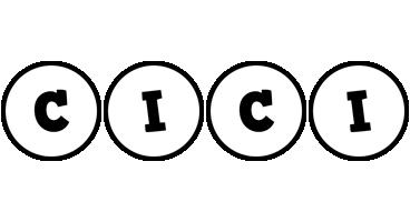 Cici handy logo