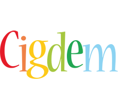 Cigdem birthday logo
