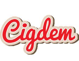 Cigdem chocolate logo