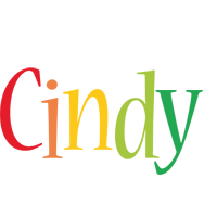 Cindy birthday logo
