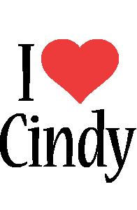 Cindy i-love logo