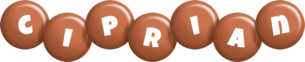 Ciprian candy-brown logo