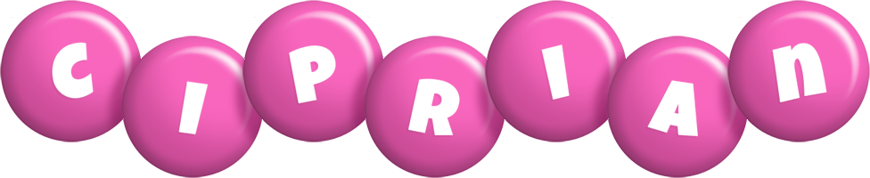 Ciprian candy-pink logo