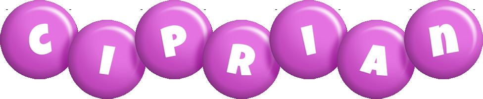 Ciprian candy-purple logo
