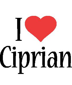 Ciprian i-love logo