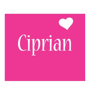 Ciprian love-heart logo