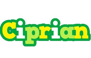 Ciprian soccer logo