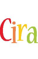 Cira birthday logo