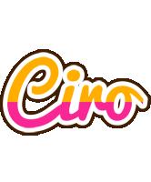 Ciro smoothie logo