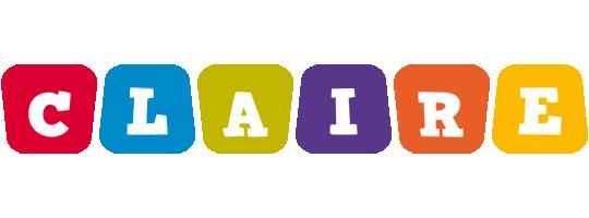 Claire kiddo logo