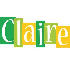 Claire lemonade logo