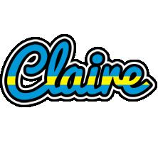 Claire sweden logo