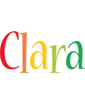 Clara birthday logo