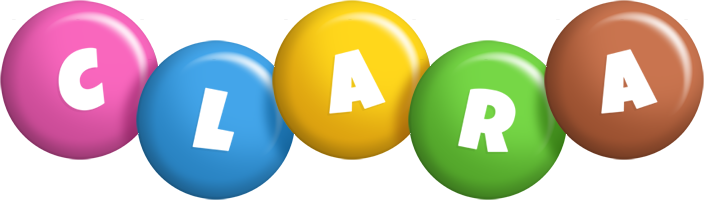 Clara candy logo