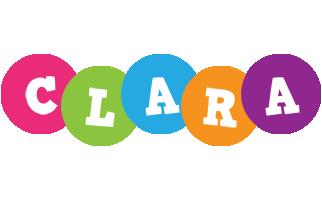 Clara friends logo