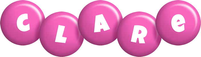 Clare candy-pink logo
