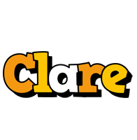 Clare cartoon logo