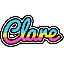 Clare circus logo