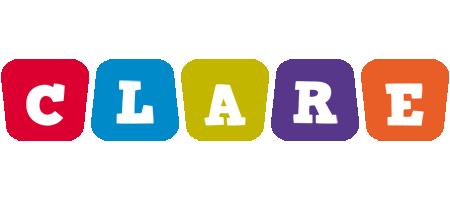 Clare daycare logo