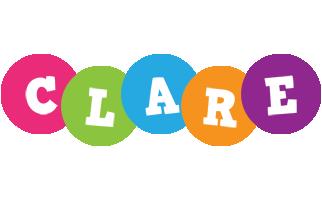 Clare friends logo