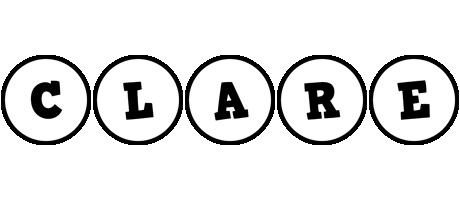 Clare handy logo
