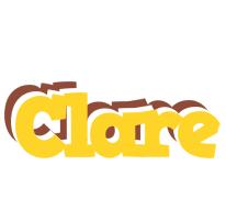 Clare hotcup logo