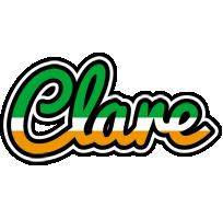 Clare ireland logo