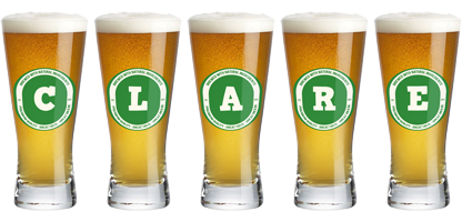 Clare lager logo
