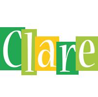 Clare lemonade logo