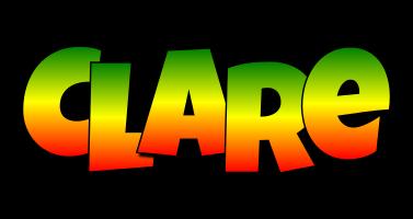 Clare mango logo