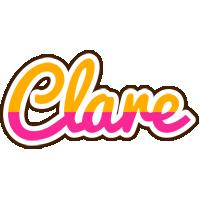 Clare smoothie logo