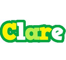 Clare soccer logo
