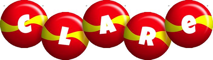 Clare spain logo